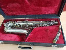 Selmer Cigar Cutter Silver alto saxophone!!! Video!!