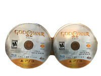 God of War Saga PlayStation 3 PS3 Game Disc 1&2 I II & III 2M
