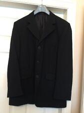 BNWOT Dimensions Monaco mens Black Blazer. Suit jacket. Drivers Jacket size 42LR