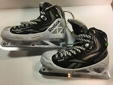 Bales Reebok Pump 20k Goalie Size 10.25 D Penguins Game Used Worn Pro Skates