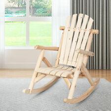 Gartenstuhl Schaukelsessel Holz Relaxsessel Schaukelstuhl Schwingsessel Outdoor