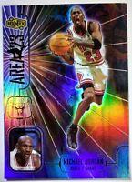 Michael Jordan 1998 UPPER DECK IONIX #A10 AREA 23 HOLOFOIL REFRACTOR LIKE INSERT