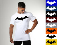 Men's Gym Batman Fitness Bodybuilding Muscle Cotton Athletic T-shirt Tee Vest
