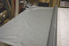 """2NDS FABRIC SILVER GRAY 1.35 OZ NYLON RIPSTOP 30D FABRIC 64""""W BY THE YARD DWR"""