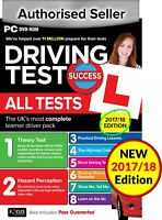 Driving Theory Test & Hazard Test - CAR. PC DVD CD ROM - NEW 2017/18 EDITION  wt