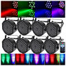 8PCS 36LED 72W RGB DMX512 PAR CAN Light Stage Lighting Disco DJ Party Wedding US