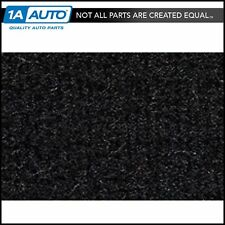 for 1982-93 Chevy S10 Pickup Extended Cab 2WD Cutpile 801-Black Complete Carpet