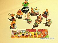 lot de 10 figurines kinder ASTERIX & LES CENTURIONS
