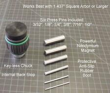 "Arbor Press Magnetic Pin Press 1/2"" Chuck Tool, APMT0.5"