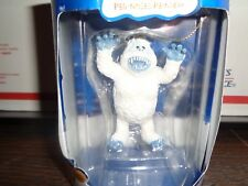 Enesco Rudolph the Red Nosed Reindeer Abominable Snowman Ornament New