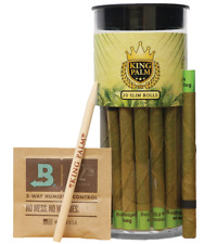 King Palms Slim Size Palm Leafs (20 Pack)