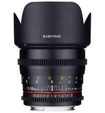 Objetivos Samyang para cámaras Nikon F