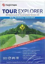 Tour Explorer Magicmaps - Berlin | Brandenburg | Sachsen-Anhalt - Tourenplaner -
