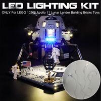 LED Licht Beleuchtung Kit Für LEGO 10266 Apollo 11 Lunar Lander Building Light