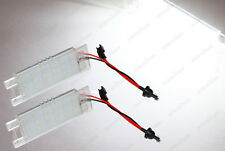 CanBus White LED For Opel Vauxhall Astra Insignia License Number Plate Lights