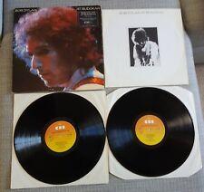 Bob Dylan At Budokan - 2 X Lp Conjunto emitida el Reino Unido: CBS con folleto/Poster-ex. con