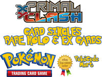 Pokemon TCG XY Primal Clash Card Selection: Rare Holo & EX Cards Full Half Art