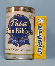 OLD PABST BLUE RIBBON BEER TIN BANK, MILWAUKEE, WI, NEAR MINT, FREE SHIP, *SALE*