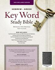 HEBREW-GREEK KEY WORD STUDY BIBLE - AMG INTERNATIONAL, INC. (COR) - NEW PAPERBAC
