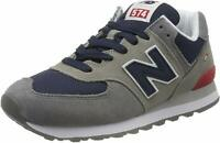 New Balance 574v2, Sneaker Uomo - ML574EAD GREY-N SCARPA