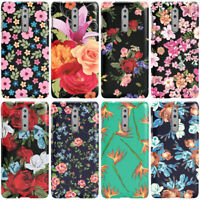 DYEFOR FLOWER FLORAL COLLECTION PHONE CASE COVER FOR NOKIA