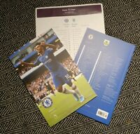 Chelsea v Burnley Programme with teamsheet 11/01/2019! FREE DELIVERY WITHIN U.K.
