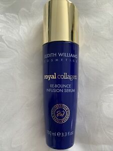 JUDITH WILLIAMS-Royal Collagen Face Re-Bounce & Infusion Serum-100ml~NEW UNBOXED