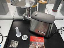 Cooks Professional Electric Meat Mincer Grinder Sausage Maker Multi Blades 1200W