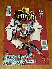 BATMAN ADVENTURES #11 BRITISH MONTHLY MAGAZINE 1994 MAN-BAT^
