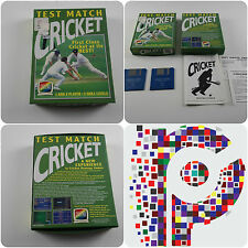 Test Match Cricket A Challenge Game for the Commodore Amiga tested & working