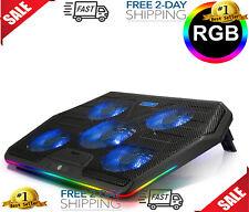 TECKNET RGB Laptop Cooling Pad Cooler for 15.6-17 Inch Laptop