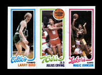 1980 Topps Basketball LARRY BIRD / MAGIC JOHNSON Rookie RC - 100% Authentic