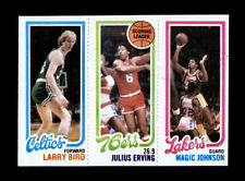 1980 Topps Basketball LARRY BIRD / MAGIC JOHNSON Rookie RC - 100% Authentic