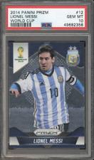 Lionel Messi 2014 Panini Prizm World Cup #12 Soccer Argentina PSA 10 QTY
