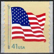 USA Sc. 4186 41c Flag 2007 MNH 9½ coil single