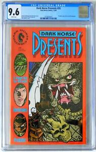 CGC 9.6 White pages  Dark Horse Presents #35   Predator Appearance