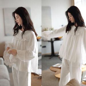 Women Pyjamas Pyjama Set Soft Pure Cotton Spring Autumn Summer Sleepwear Pajamas