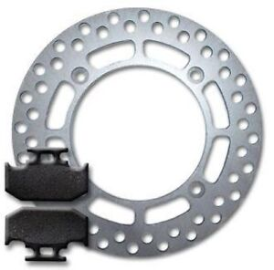 REAR High Quality Brake Disc Rotor+Pads for Suzuki DR 350 DR350 (1990-1999) NEW