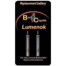 Burt Coyote Lumenok Bolt Replacement Batteries - 2pk RBS BR-425 3V #00093 GT