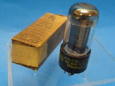 Vintage WESTINGHOUSE 25L6GT  TUBE 真空管 アンプ  Röhre Valvola * Original Box