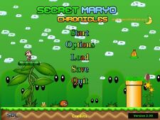 Secret Maryo Chronicles une plate-forme PC bidimensionnelle jeu super mario clone