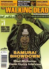 NYCC variant WALKING DEAD official MAGAZINE #1 TITAN MICHONNE COVER NM SKYBOUND