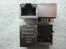 1 Piece Patent Pending Pulse Jack With Magnetics RJ45 J00-0045NL Port Connector