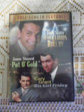 3 Full Length Features TilThe Clouds Roll By Pot O Gold His Girl Friday