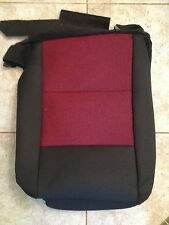 2006 Ford Ranger Factory Original RH/PASS Seat Cover (Black/Red Cloth)