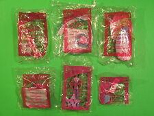 2003 McDonalds - Barbie Swan Lake - set of 6 *MIP*