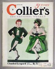 Collier's Magazine - March 24, 1934 -- Dashiell Hammett -- Max Brand