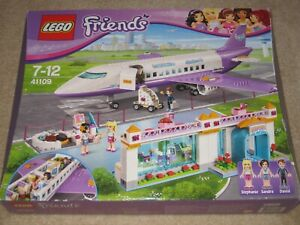 LEGO FRIENDS 41109 HEARTLAKE AIRPORT - Used Excellent Condition  (Very Rare)