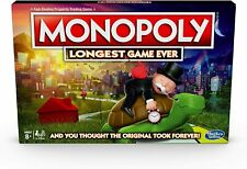 Hasbro E8915000 Monopoly Longest Game Ever (Exclusive) Edition