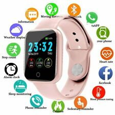 IP67  Bluetooth Smartwatch Damen Sport Armband Uhr für Android  IOS Smartphone